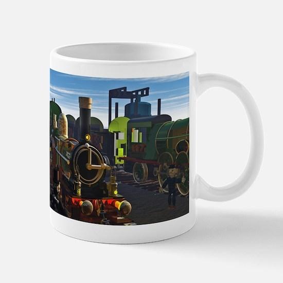 The Flying Dutchman Cutaway Train Mug