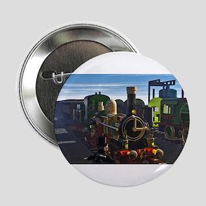 "The Flying Dutchman Cutaway Train 2.25"" Button"