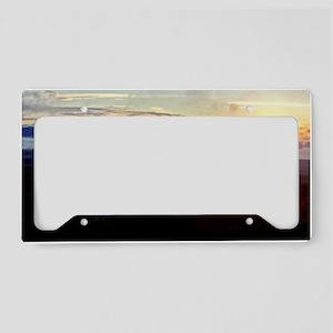 Mauna Loa Sunset License Plate Holder