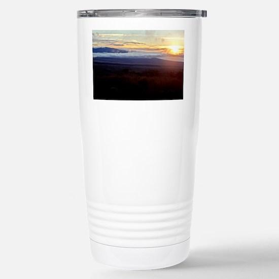 Mauna Loa Sunset Stainless Steel Travel Mug