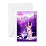 'Moon Goddess' Greeting Cards (Package o