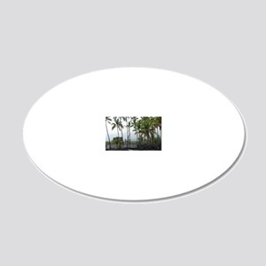 Place of Refuge02 20x12 Oval Wall Decal