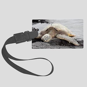 Honu Sea Turtle Large Luggage Tag