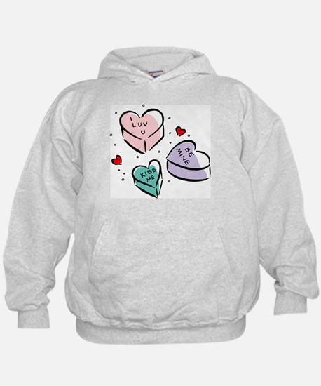 Heart Shaped Candy Hoodie