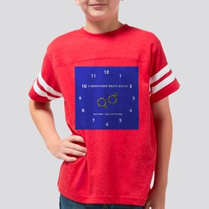 clock3 copy Youth Football Shirt