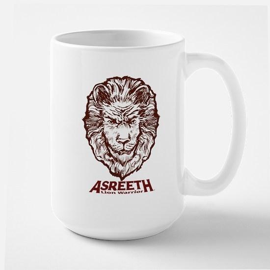 Asreeth Lion Warrior Headshot Mug