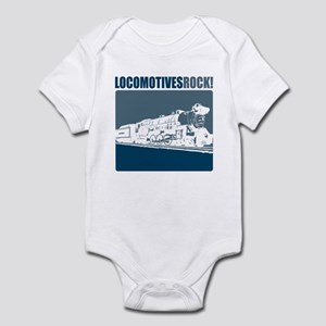 Locomotives Rock! Infant Bodysuit