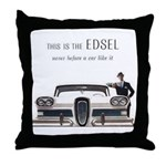 1958 Edsel Throw Pillow