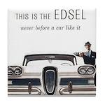 1958 Edsel Tile Coaster