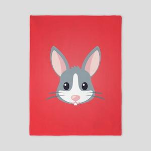 Rabbit Twin Duvet Cover