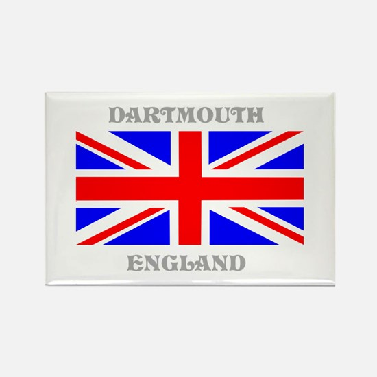 Dartmouth England Rectangle Magnet