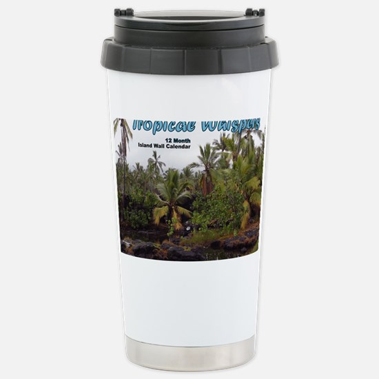 Queens Bath Cover Stainless Steel Travel Mug