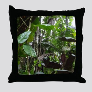 Rainforest01 Throw Pillow