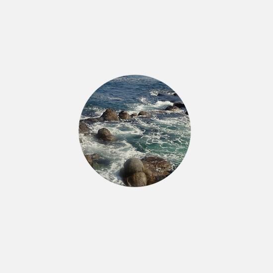 California Ocean 01 Mini Button
