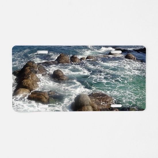 California Ocean 01 Aluminum License Plate