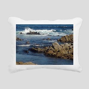 California Ocean 02 Rectangular Canvas Pillow