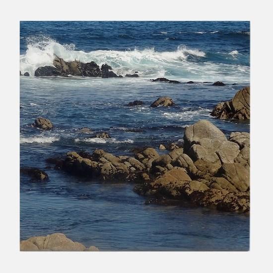 California Ocean 02 Tile Coaster