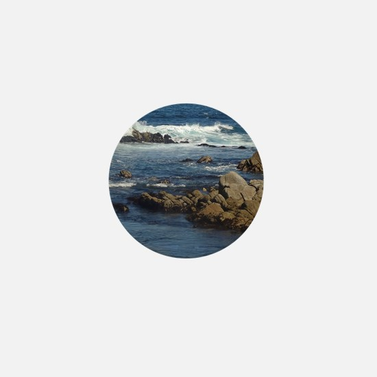 California Ocean 02 Mini Button
