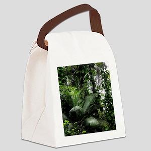 Tropical Rainforest Canvas Lunch Bag