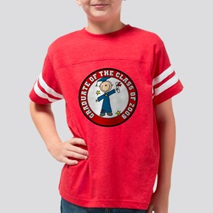 embroidboygrad09 Youth Football Shirt