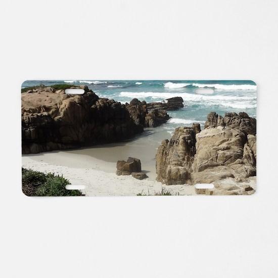 California Ocean 03 Aluminum License Plate