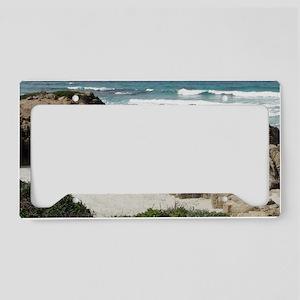 California Ocean 03 License Plate Holder