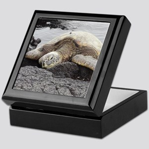 Honu Sea Turtle Keepsake Box