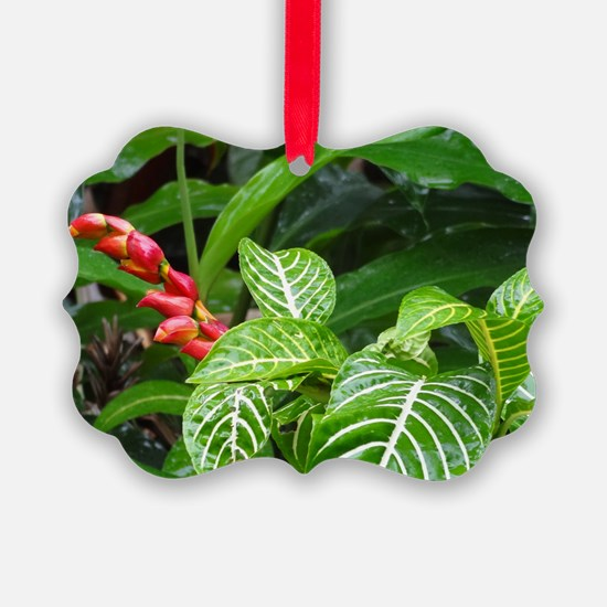 Tropical Flower Ornament