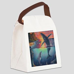Hawaii Canvas Lunch Bag