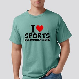 I Love Sports Communications Mens Comfort Colors S