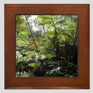 Tropical Jungle Framed Tile