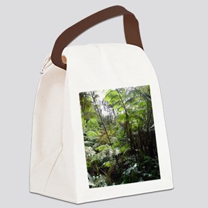 Tropical Jungle Canvas Lunch Bag