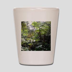 Tropical Jungle Shot Glass