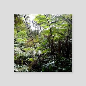 "Tropical Jungle Square Sticker 3"" x 3"""
