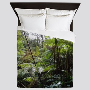 Tropical Jungle Queen Duvet