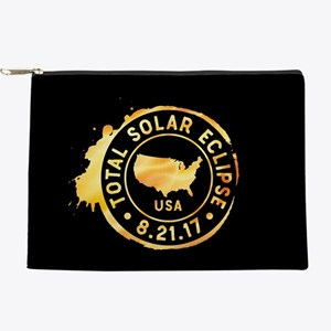 American Eclipse Makeup Pouch