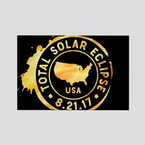American Eclipse Rectangle Magnet