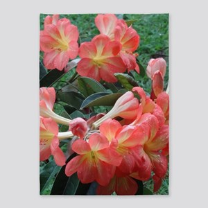Rhododendrons 5'x7'Area Rug
