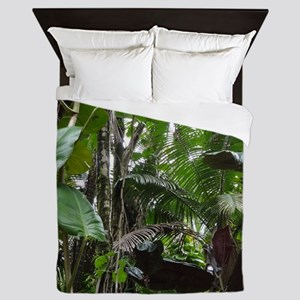 Tropical Rainforest 01 Queen Duvet