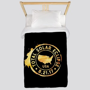 American Eclipse Twin Duvet Cover