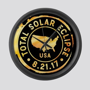 American Eclipse Large Wall Clock
