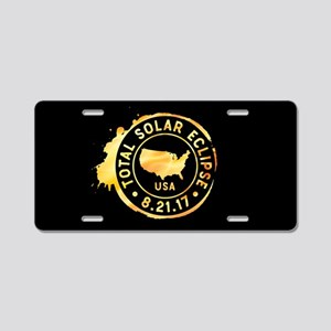 American Eclipse Aluminum License Plate