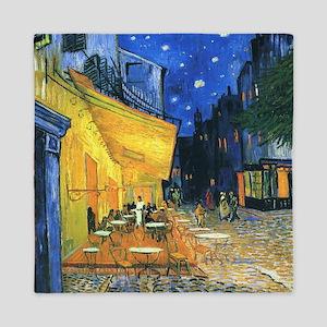 Van Gogh CafeTerrace at Night Queen Duvet
