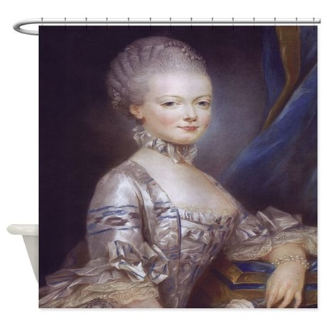 Marie Antoinette Shower Curtain