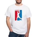 Dodgeball Association White T-Shirt