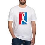 Dodgeball Association Fitted T-Shirt