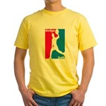 Dodgeball Association Yellow T-Shirt