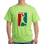Dodgeball Association Green T-Shirt