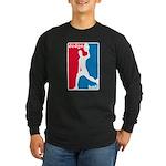 Dodgeball Association Long Sleeve Dark T-Shirt