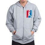 Dodgeball Association Zip Hoodie